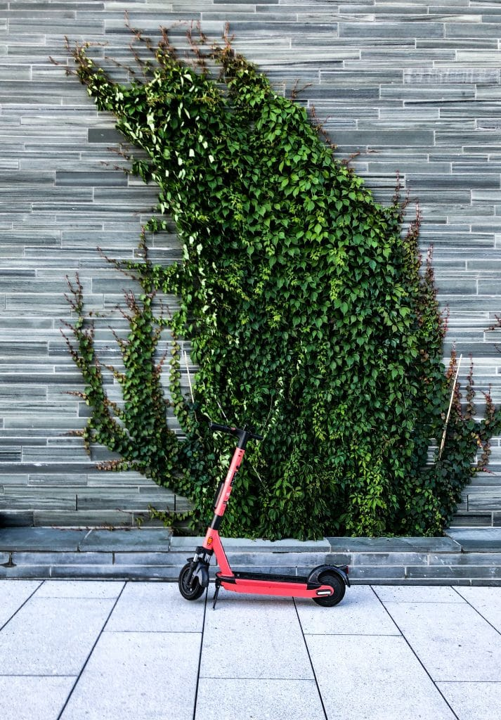 Eco-Friendly Electric Scooter